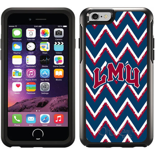Loyola Marymount Sketchy Chevron Design on OtterBox Symmetry Series Case for Apple iPhone 6