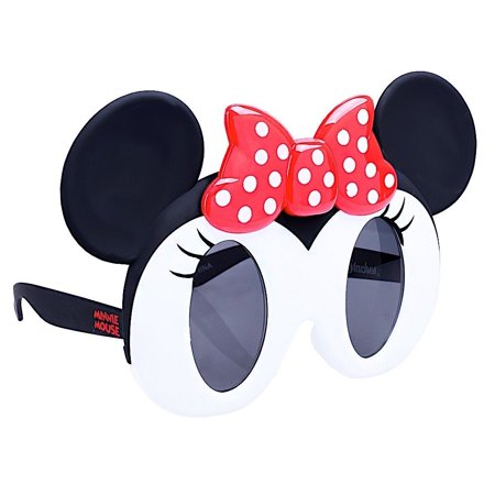 Party Costumes - Sun-Staches - Minnie Mouse Dark Lens Kids Cosplay sg3068 (Minnie Mouse Party Costume)