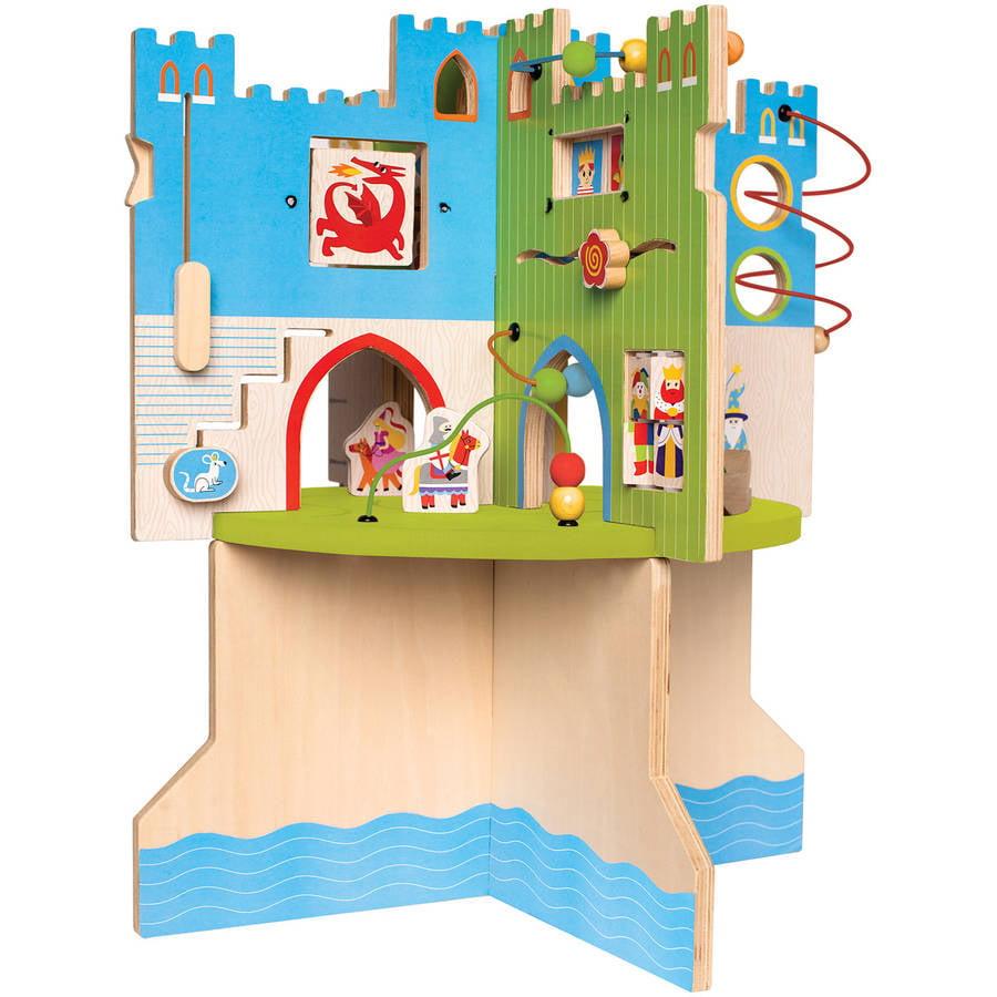 Manhattan Toy Storybook Castle Wooden Toddler Activity Center by Manhattan Toy