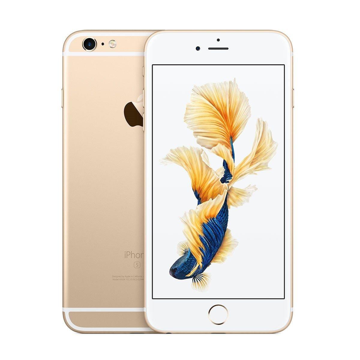 Seller Refurbished Apple iPhone 6S Plus 16GB Unlocked GSM iOS Smartphone Multi Colors (Rose Gold/White)