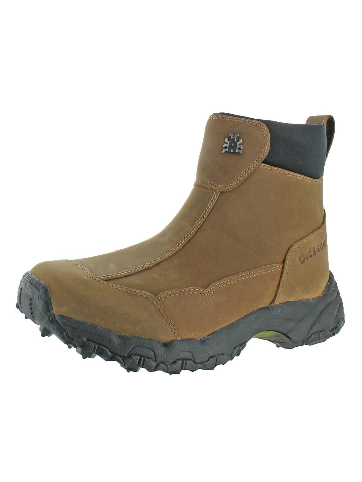 Womens Metro Classic Nubuck Round Toe Winter Boots