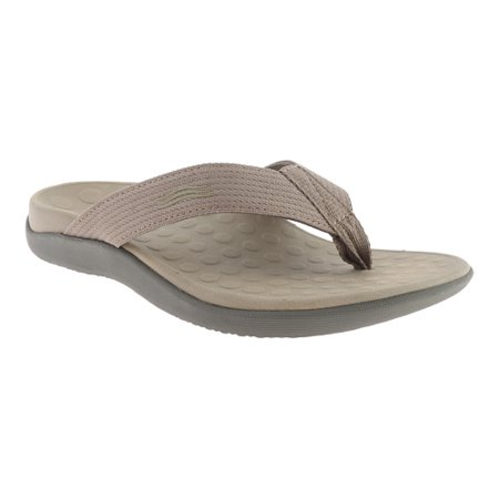 088e32e3b catan - vionic unisex wave toe post sandal, 7 b(m) us women / 6 d(m) us men,  (khaki) - Walmart.com