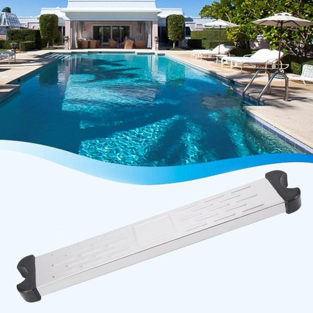 Sonew Stainless Steel Swimming Pool Ladder Step Pedal Accessory  Replacement, Stainless Steel Ladder Step, Swimming Pool Ladder Accessory