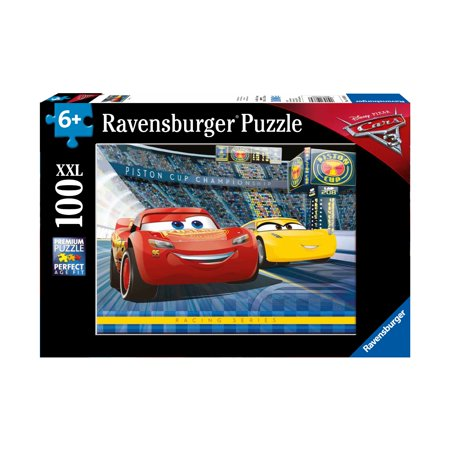 Disney Pixar Cars 3 Jigsaw Puzzle: 100 Pcs