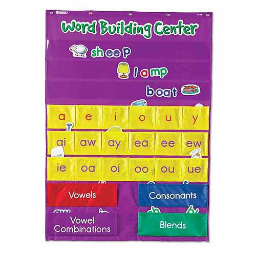 Learning Resources Word Building Center Pocket Chart