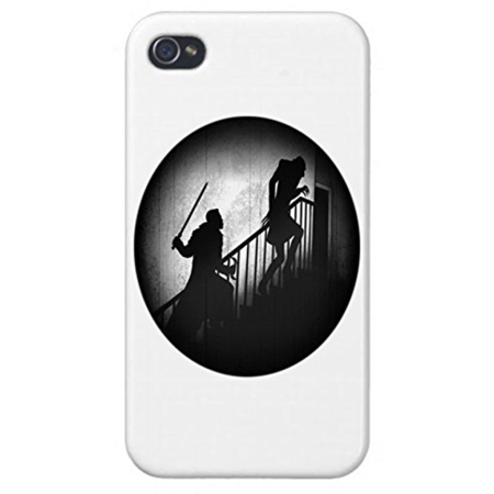 Apple Iphone Custom Case 5 / 5s White Plastic Snap on - Vampire Fighter](Custom Vampire Dentures)