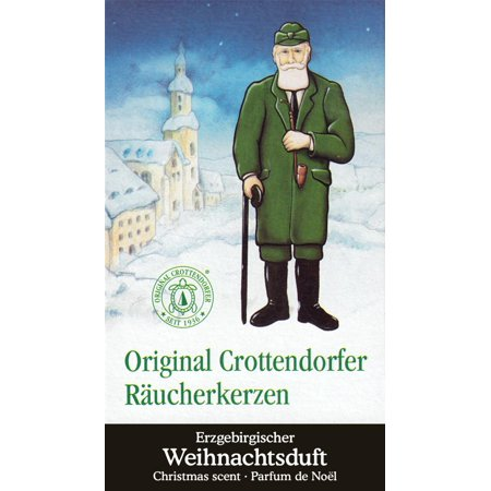 Crottendorfer Christmas Scent German Incense Cones Germany For Christmas Smokers ()