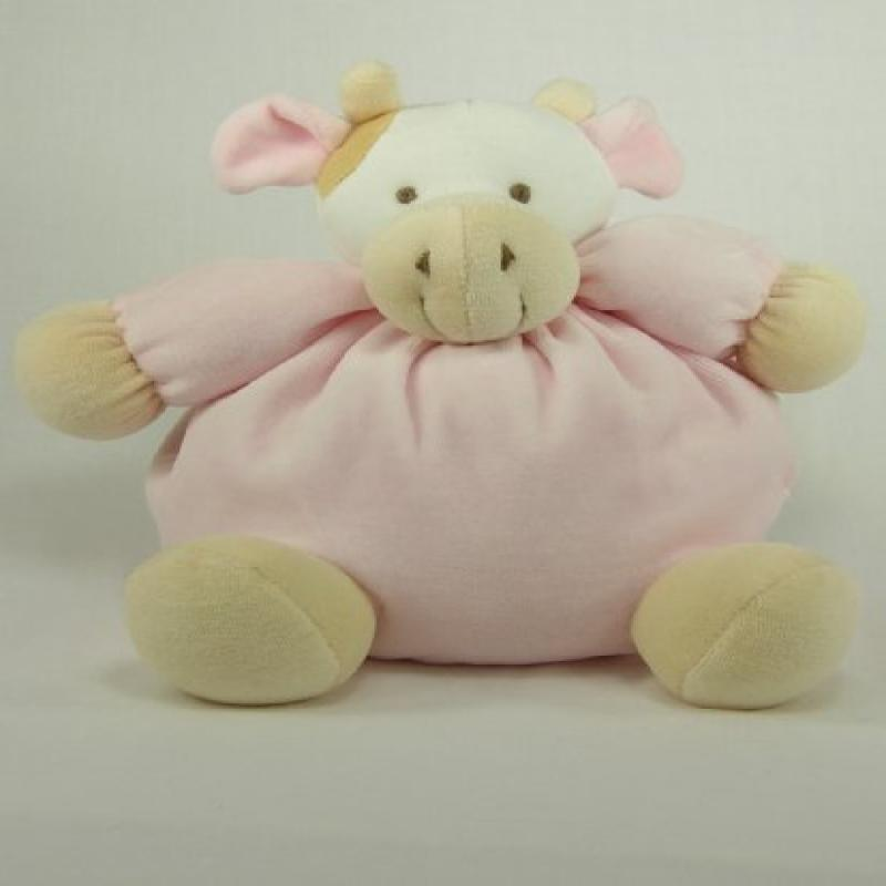 Twinkie Soft Pink Cow with Rattle by Twinkie