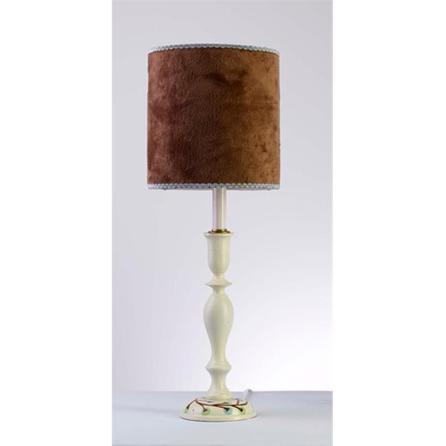 Yessicas Collection 4589 Mod Flower LP7 Lamp and Shade - Blue-Green