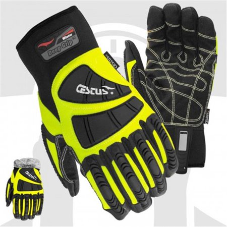 Cestus 5056 3XL Temp Series Deep Grip Winter Insulated One Pair Glove - 3 Extra Large