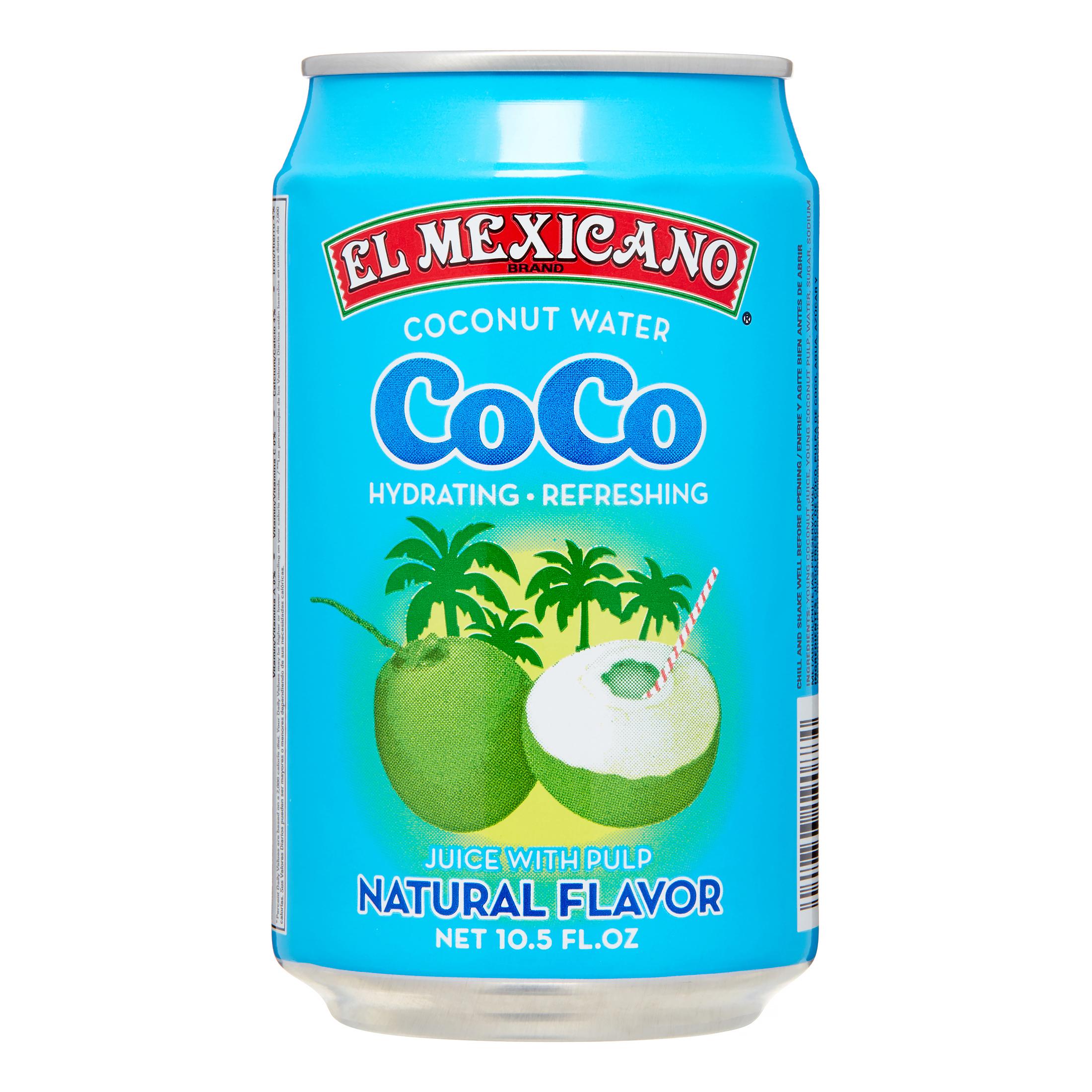 El Mexicano Coconut Water 105 Oz