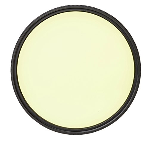 Heliopan 46mm Light Yellow Filter (704602) with specialty Schott glass in flo... by MacGroup