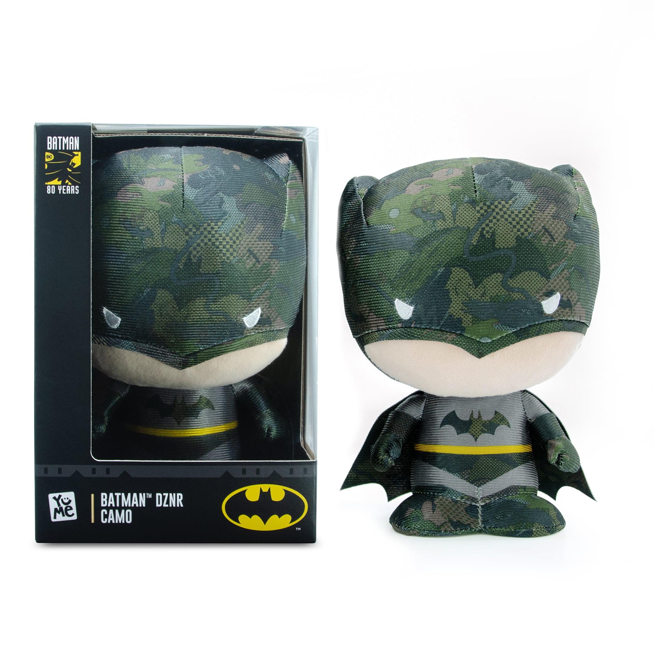 """BATMAN YuMe DZNR 7/"""" Batman Collectible Plush /""""BLACKOUT EDITION/"""" New"""