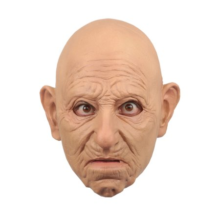Old Man Adult Mask](Tin Man Mask)