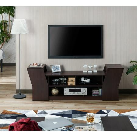 Furniture Of America Paulson Contemporary 70 Inch Tv Stand Walmartcom