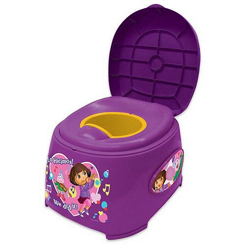 Dora 3-in-1 Toilet Trainer by Dora The Explorer