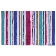 Jovi Home 100-Percent Cotton Carousel Stripe Bath Mat, 24 by 36-Inch, Multicolor