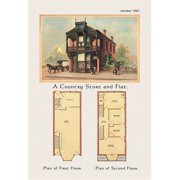 Buy Enlarge 0-587-02788-6P12x18 Country Store and Flat- Paper Size P12x18