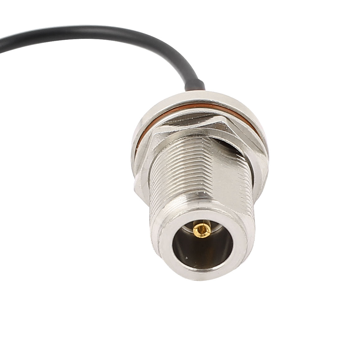 MCX-JW Female to N-KY Female RG174 Coaxial Cable Pigtail 15cm - image 2 de 3