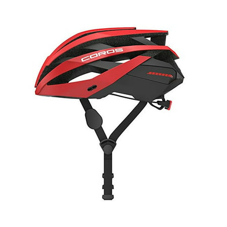 Coros OMNI Smart Cycling Helmet w/Bone Conducting Audio, LED Tail Lights & Removable Visor | Fully adjustable sizing | Connects via Bluetooth for music, calls & navigation | Comfortable, (Best Bluetooth Helmet For Music)