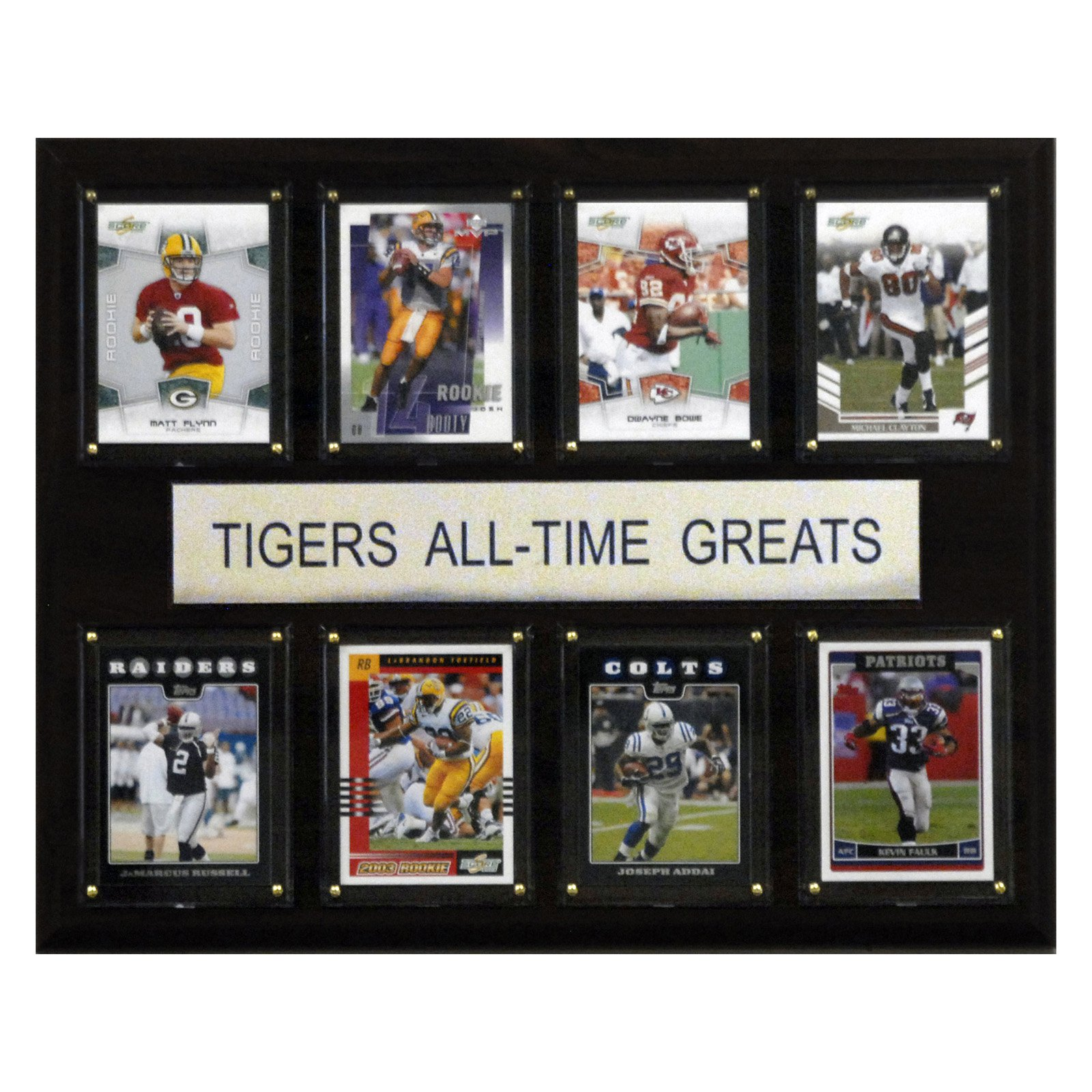 C&I Collectables NCAA Football 12x15 LSU Tigers All-Time Greats Plaque