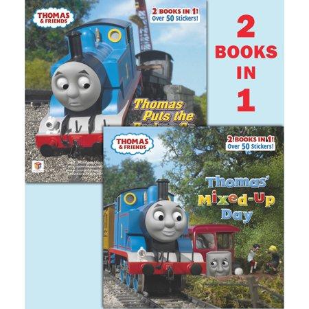 Thomas' Mixed-Up Day/Thomas Puts the Brakes On (Thomas &