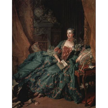 Framed Art for Your Wall Boucher, François - Portrait of Madame de Pompadour [3] 10 x 13