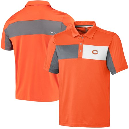 factory authentic e3a12 5343d Chicago Bears CBUK by Cutter & Buck Logan Polo - Orange