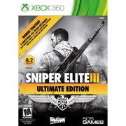 Sniper Elite III Ultimate Edition, 505 Games, XBOX 360, 812872018454
