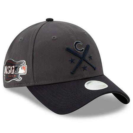 Chicago Cubs New Era Women's 2019 MLB All-Star Workout 9TWENTY Adjustable Hat - Graphite/Navy -