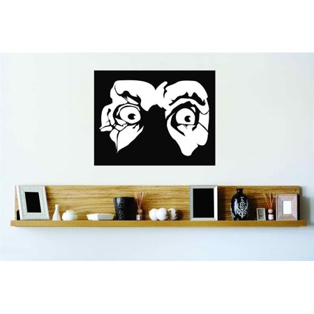 Living Room Art Scary Pair Of Round Glaring Eyes Home Halloween Party Girl Teen - Halloween Eye Art