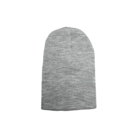 666b66ce4cb Opromo Short Ski Winter Beanie Basic Plain Warm Knit Cap Ski Snowboarding  Hat-Grey-6piece - Walmart.com