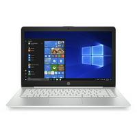 HP Stream Laptop 14-ds0110nr, AMD Dual-Core A4-9120e, 4GB DDR4, 64GB eMMC, AMD Radeon R3 Graphics, Windows 10 Home in S mode, Diamond White and Dove Silver