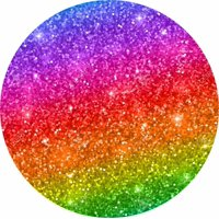 TIre Cover Central Rainbow Glitter spare tire cover.fits center mounted backup camera openings 255/70r18 with back up camera opening