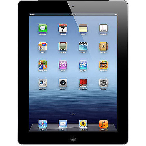 "Grade A Mint Apple iPad 3 3rd Generation 64GB Wi-Fi 3G Verizon 9.7"" Black (Refurbished)"