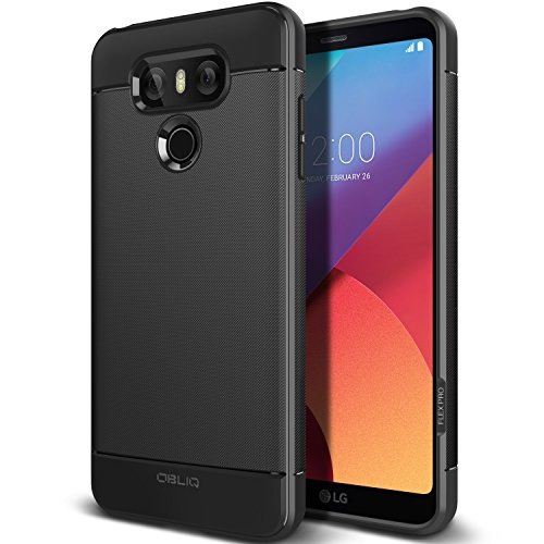 Obliq Flex for LG G6 Case with Extreme Heavy Duty Slim Durable and Shock Protection Armor for LG G6 (2017) - Black