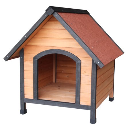 Outdoor Pet Dog Kennel Wood House Bed Shelter Home