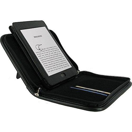 rooCASE Executive Portfolio Leather Case for Amazon Kindle Touch