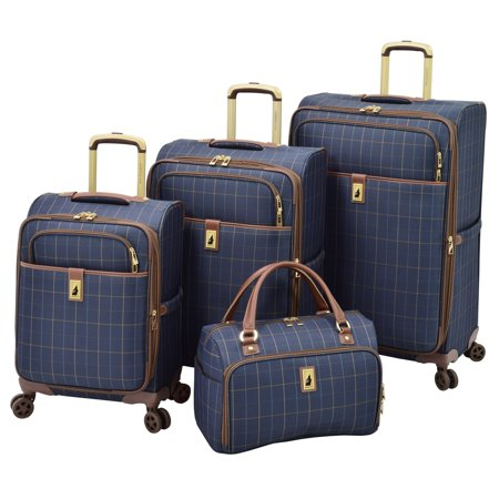 London Fog  Kensington II 4 Piece Spinner Luggage (Best London Fog Luggage)