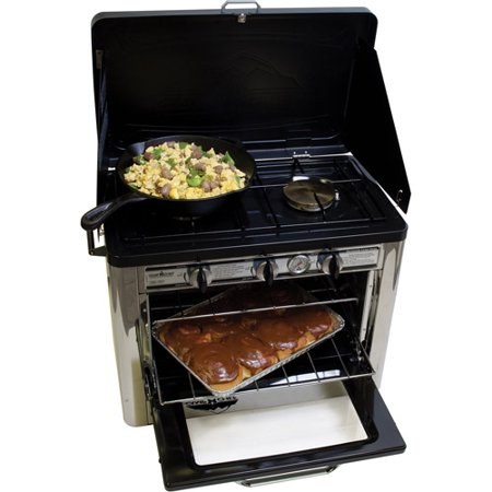 Camp Chef Outdoor 2-Burner Range with Oven (Camp Chef Professional Cooker)