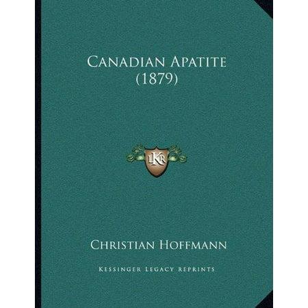Canadian Apatite (1879)