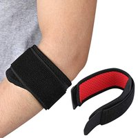 LHCER Sports Elbow Support, Elbow Protector,Adjustable Neoprene Elbow Strap Brace Forearm Support Protector for Muscle Pain Relief