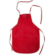 Child's Youth RED Chef Food Crafting Activity Apron Party Costume Accessory