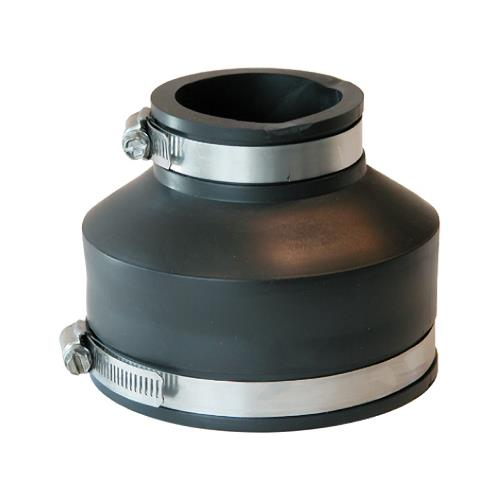 Fernco P1056-415 Sewer Drain Repair Coupling, 4 x 1-/2-Inch