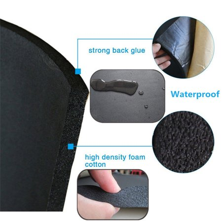 5mm Car Sound Proof Heat Shield Insulation Shock Pads Noise Deadening Acoustic Material Mat