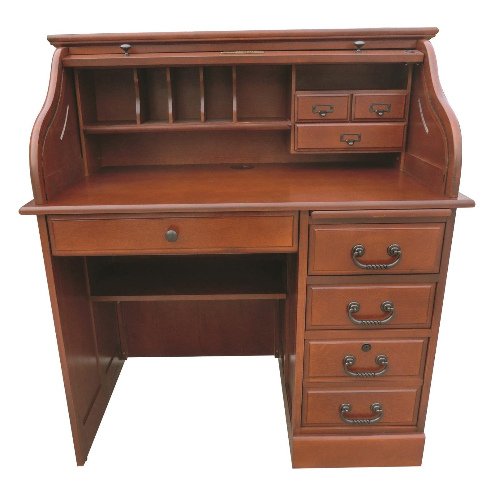 roll top desk chelsea home furniture moon 42 in student roll top desk 28903