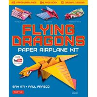 Flying Dragons Paper Airplane Kit (Other)