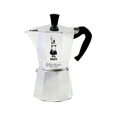 Bialetti 3 Cup Stovetop (Bialetti 275-06 Moka Express 6-Cup Espresso Maker)