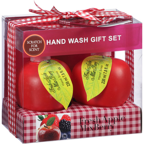 Aromanice Fresh Apple Mix Berry Hand Wash, 7.8 oz, 2 count