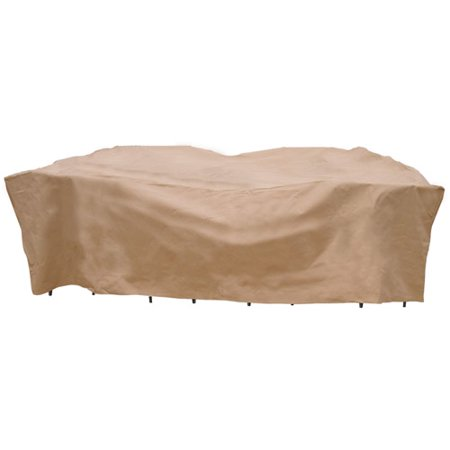 Sure Fit Chat Set Deep Seating Patio Cover  Taupe